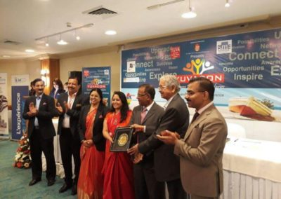 "Supermind Director, Manjusha Vaidya received an international award of ""Excellence in Business"""